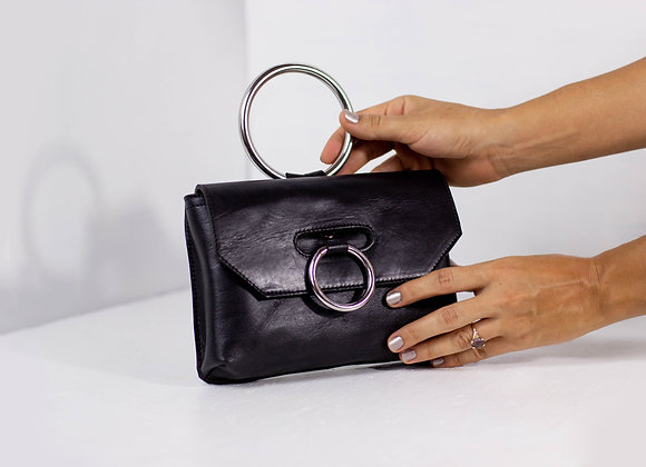 The Bangle bag in classic black