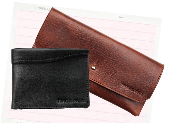 His & Hers wallet duo