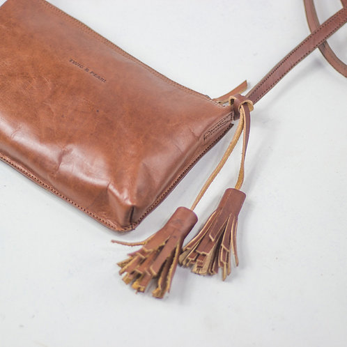 Leather Tassel [Black, fawn, tan, sunset]