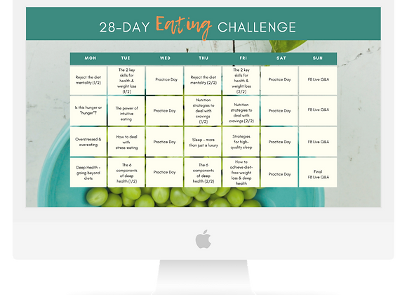 28-Day Eating Challenge