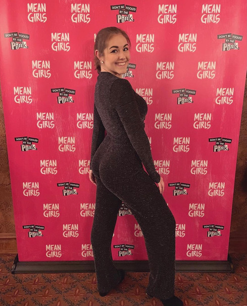 looking fetch at MEAN GIRLS on BWAY 2019