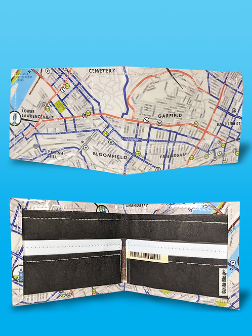 BikePGH Bike Map Wallet