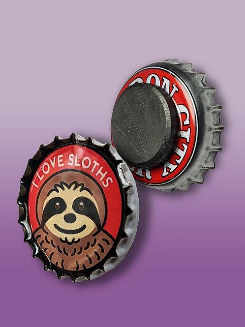 Cute Critters Bottle Cap Magnets