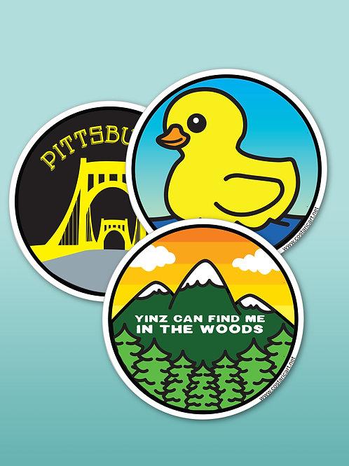 Pittsburgh Homemade Stickers