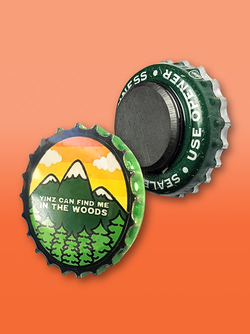 Pittsburgh Bottle Cap Magnets
