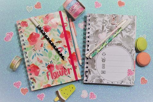 Cuaderno Flower