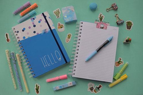 Cuaderno Hello