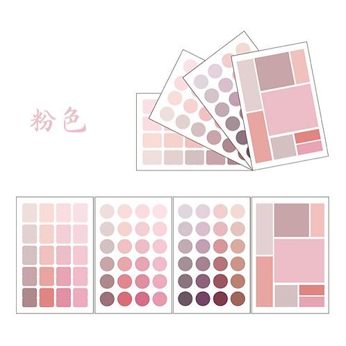 Post It  Paleta de colores Rosa