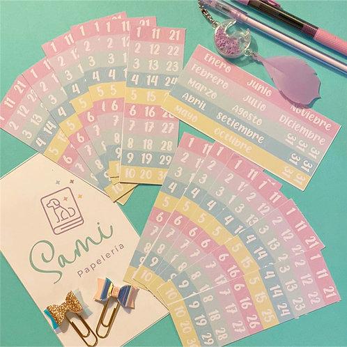 Pack Stickers Organizador!