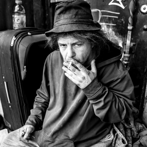 """""""My name is Deuce, D-E-U-C-E. I'm 48 and I have been living on the street for 4.5 years. """""""
