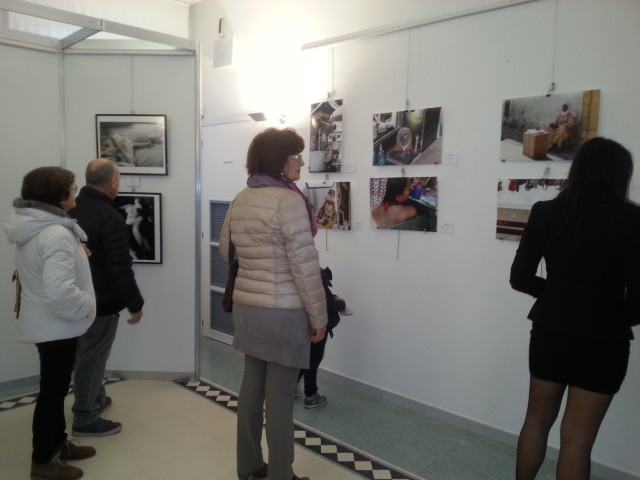 My body of work included 6 photographs taken in 5 different countries, all of women working in marketplaces.