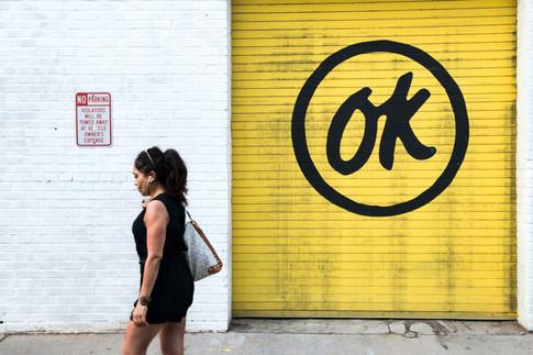 NO parking, OK