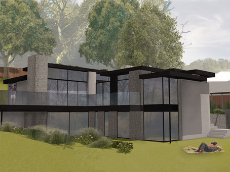 Planning Approval for New House, Farnham, Surrey