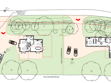 Planning consent obtained for two detached houses in Loxwood