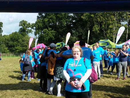 Denise's Memory Walk raises money for Alzheimer's Society