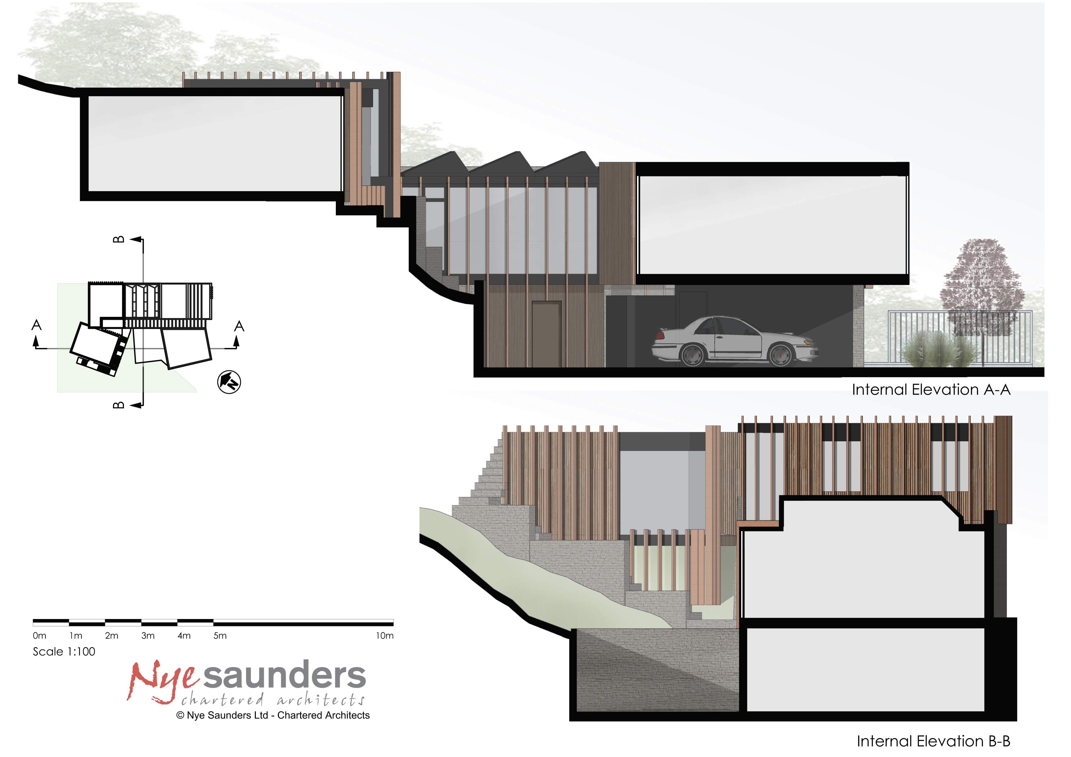 Godalming, Nye Saunders