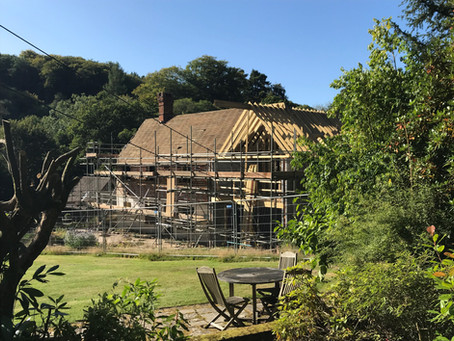 Work is progressing well in Hindhead