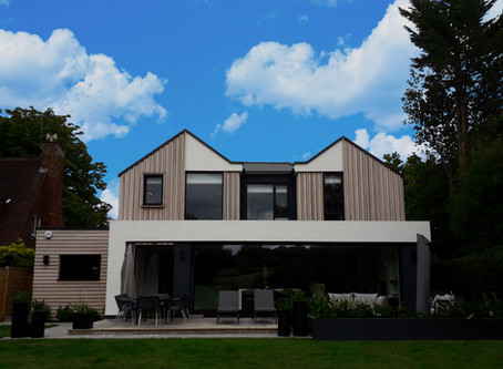 The refurbishment and extension of a domestic property