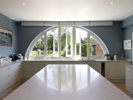 New kitchen now complete in Surrey Hills country house