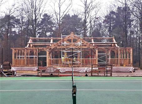 Tennis Pavilion & Greenhouse Project