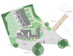 The Pilgrim Site Plan, Nye Saunders