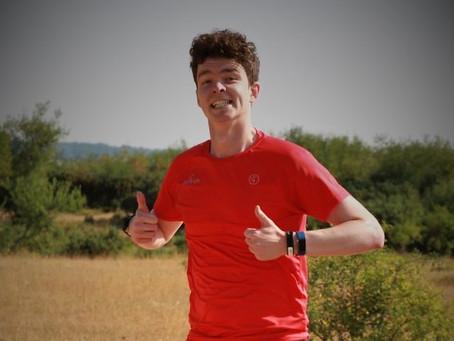 Dan Burton completes his 100th Parkrun