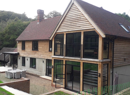 Extension & Alterations to a Property near Greyshott