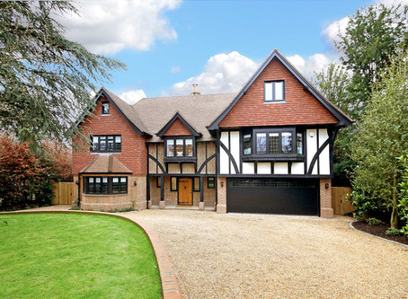 Traditional Architecture:  new build Arts and Crafts style house
