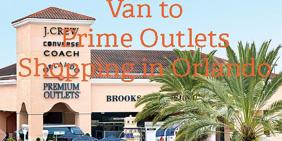 Van to Prime Outlets for Christmas Shopping in Orlando