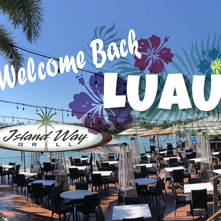 Welcome Back Luau Cocktail Party