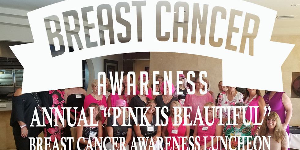 October Luncheon Breast Cancer Awareness Fundraiser at Island Way Grill