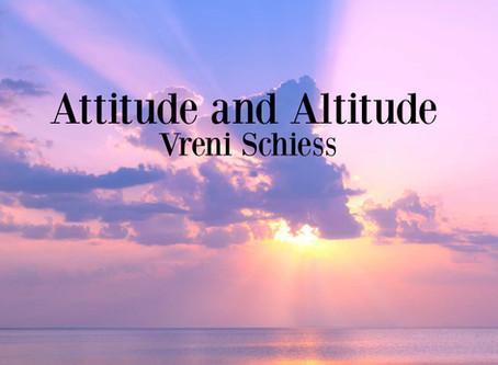 Attitude and Altitude