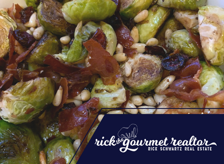 JAZZED-UP BRUSSEL SPROUTS