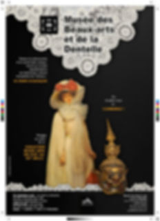 Affiche Alençon musée de la dentelle