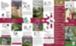 Dépliant carte touristique du Perche
