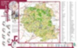 Graphisme carte géographique du Perche