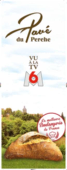 Affiche Le Pavé du Perche vu sur M6