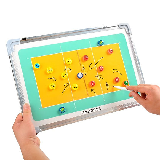 Blue-Song-Magnetic-volleyball-Football-Coaching-Board-basketball-Soccer-Coach-tactics-book-set-Clipb