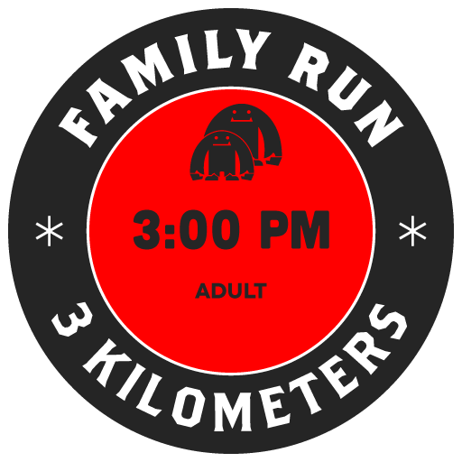 FAMILY RUN — ADULT August 09 3 pm