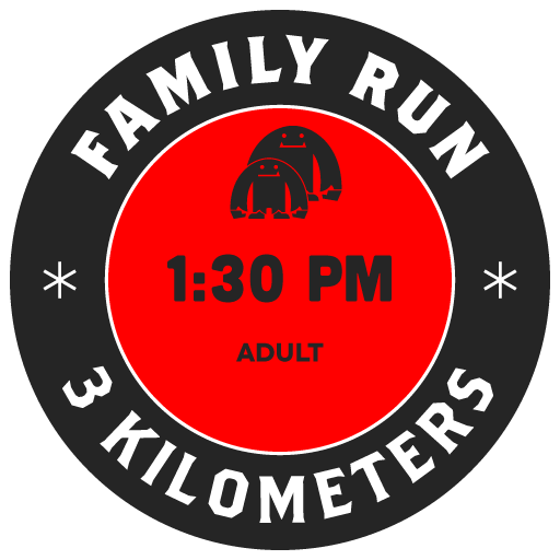 FAMILY RUN — ADULT August 09 1:30 pm