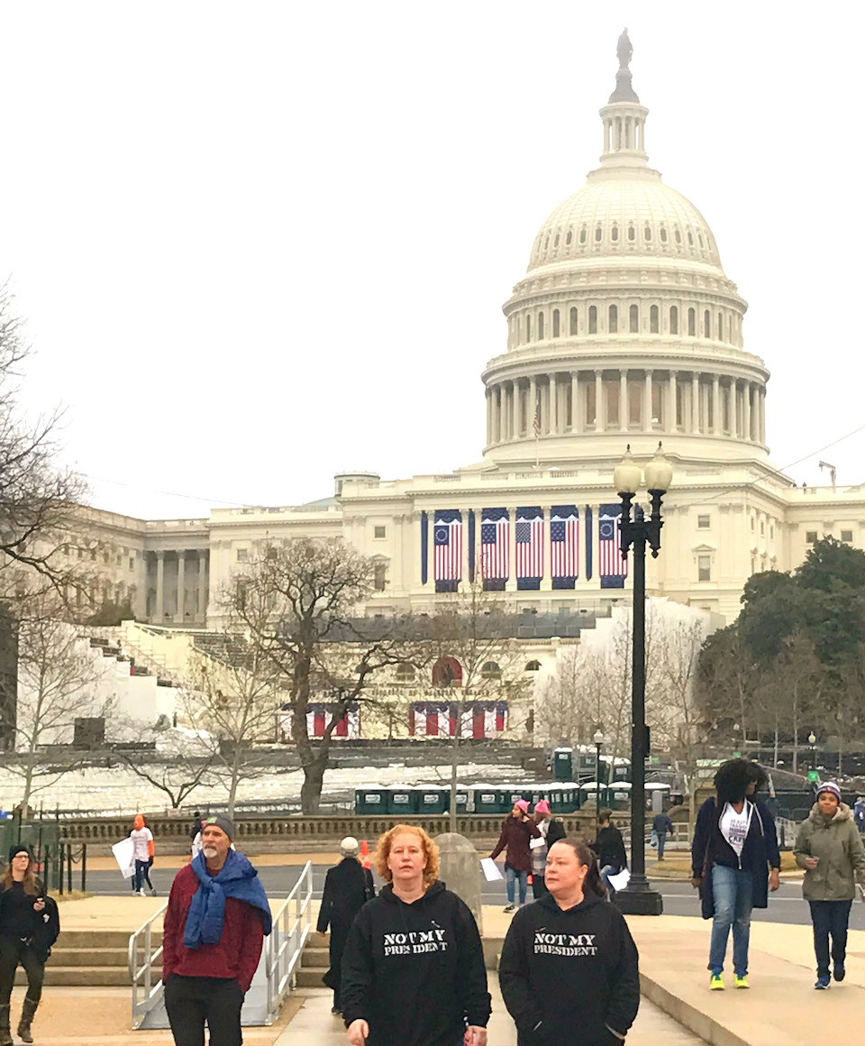 Women's March, Democracy, Capitol Hill