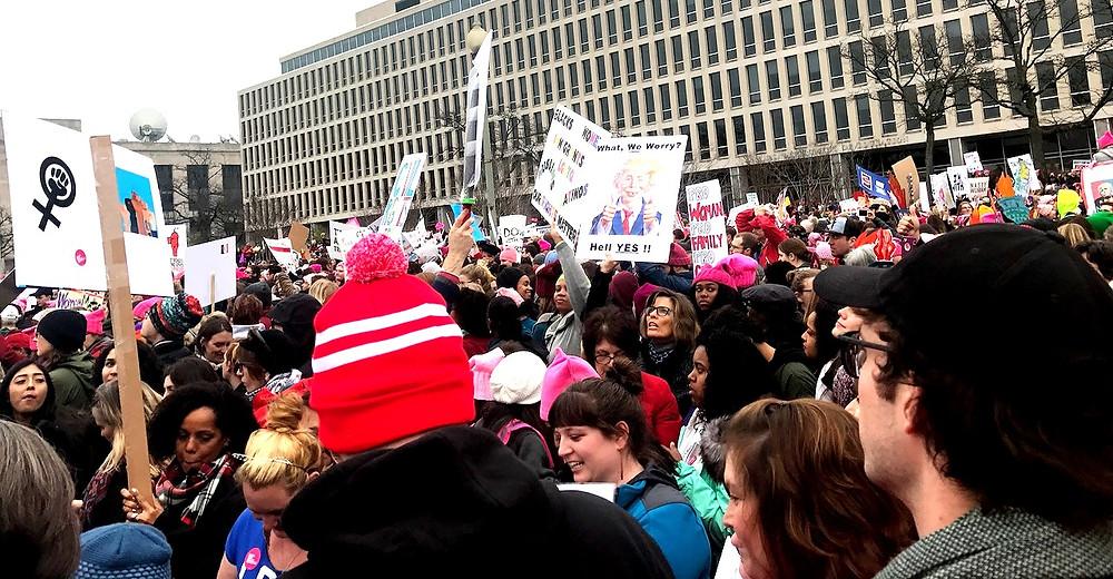 Women's March, Democracy