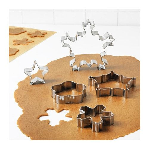 Five unique cookie cutters are sure to make holiday baking a treat! Be sure to include your favorite cookie recipe in the card.