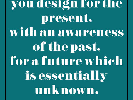 Monday Inspiration: Past, Present, Future