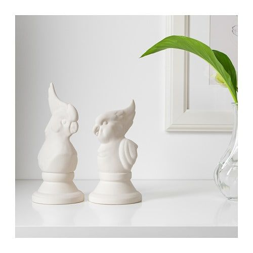 This charming ceramic bird duo is certain to please any host or hostess - unless you decide to keep them for yourself of course.