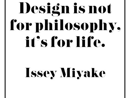 Monday Inspiration: Design Is For Life