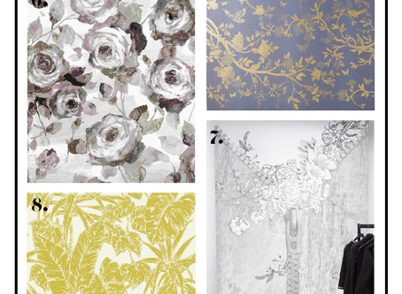 12 Fabulous Floral Wallpapers for Spring