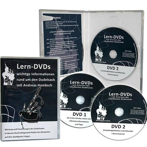 Lern-DVD blau von Andreas Hambsch