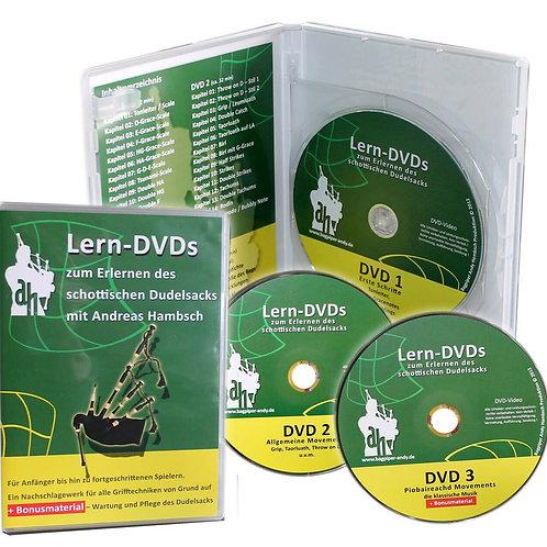 Lern-DVD grün von Andreas Hambsch (deutsch)