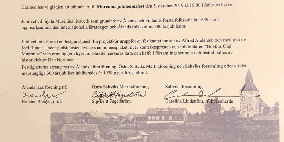 Murenius jubileumsfest